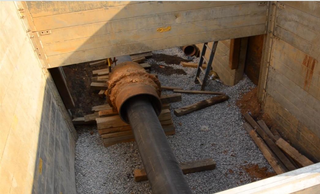 Underground water pipe in SE DC