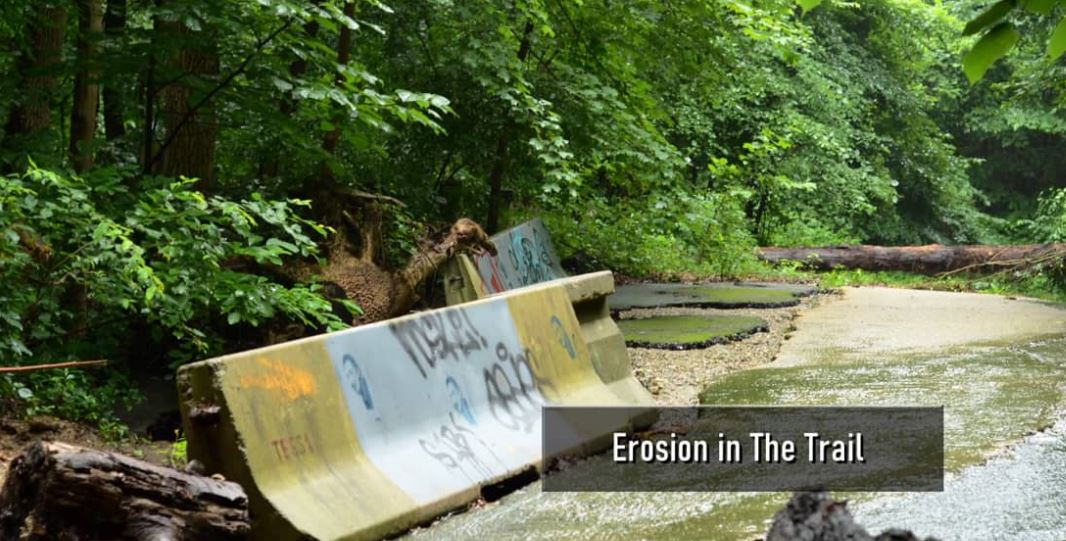 Klingle Valley-Part 4- D.C. Erosion in The Trail