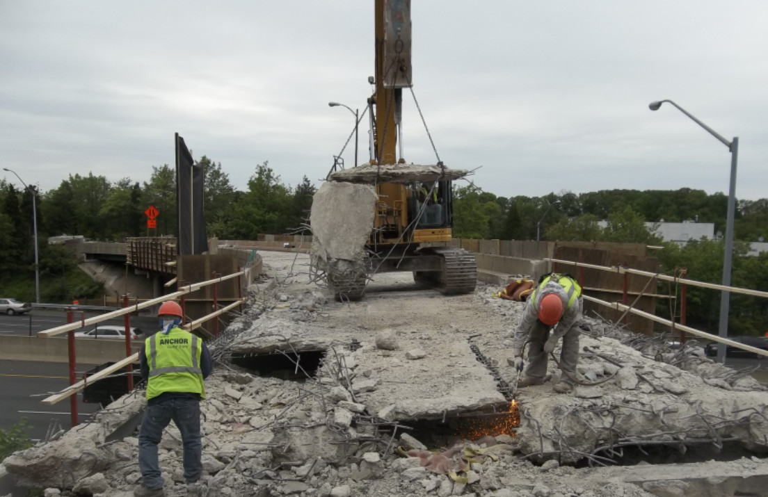 MDSHA Deck Replacement of Ramp F Over I-495
