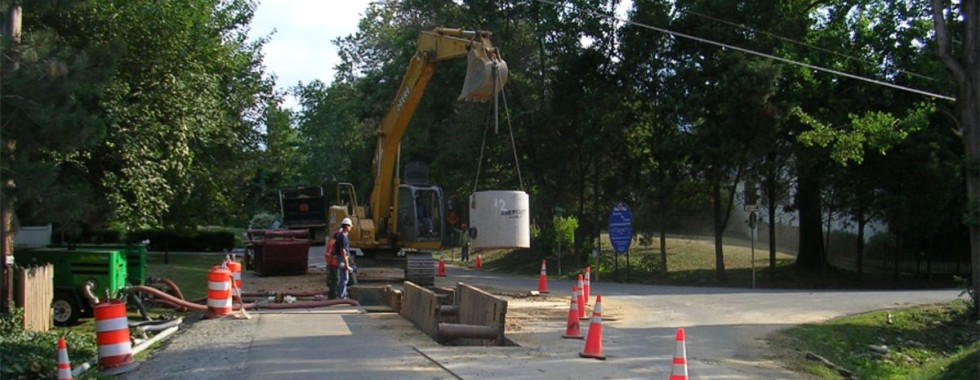 river oaks sewer extension